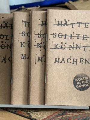 Notizbüchlein h̵ä̵t̵t̵e̵ ̵s̵o̵l̵l̵t̵e̵ ̵k̵ö̵n̵n̵t̵e̵ Machen!!!